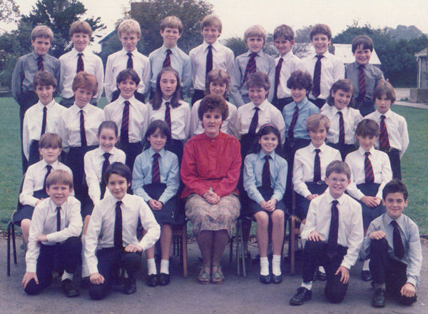 !st Year Group 1985/86