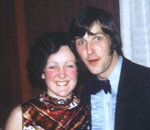 Lynda with Barry John