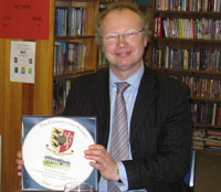 Mr Paul Green with Commemorative Plate